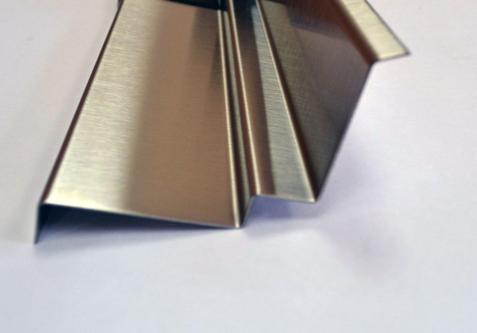 Панель гнутая из нержавеющей стали (по чертежам заказчика) 4 гиба