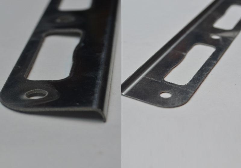 Гибка деталей с минимальными полками (0,5мм) нерж серийный выпуск